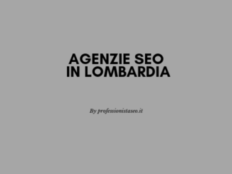 Agenzie SEO in Lombardia