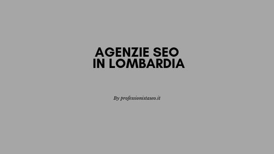 Agenzie SEO in Lombardia