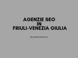 Agenzie seo in Friuli-Venezia Giulia
